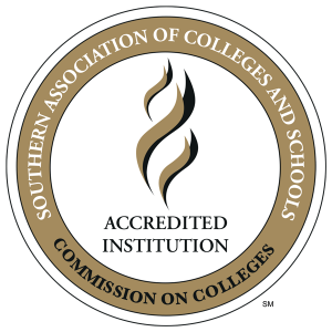 Southern Association of Colleges and Schools Accredited Institution Logo
