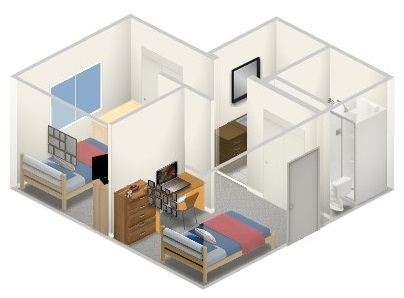 Sun Chief Hall layout